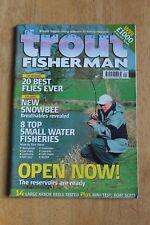 Trout Fisherman Magazine April 2005