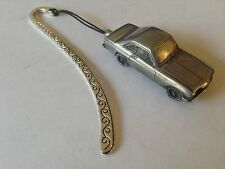 Reliant Scimitar GT Coupe  ref199  FULL CAR on a Pattern bookmark with cord