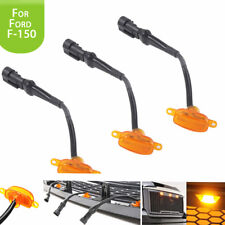 3 X Car Bumper Grille LED Light For Ford F-150 F150 2015 2016 2017 Raptor Style