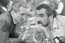 Robert De Niro On Set With Martin Scorsese Goodfellas 11x17 Mini Poster