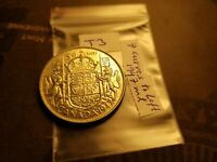Canada Extremely Rare 1947 Maple Leaf 7 Curves Left Variety 50 Cent Coin id#j3.
