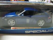 Maisto1:18 Porsche 911 Carrera S Diecast DIECAST BLUE
