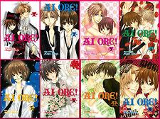 AI Ore! Love Me! Series Collection Set 1-8 English Manga by Miyo Shinjo NEW!!!