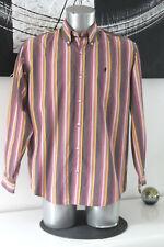 bonito camisa algodón de rayas hombre Marlboro classics talla L COMO NUEVO