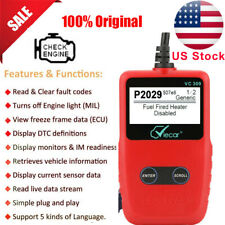 Auto OBD2 Diagnostic Scanner Tool Check Engine Fault Coder Reader VC309 as VC300