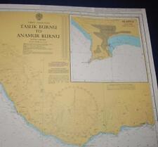 Admiralty Charts Map #237 Taslik Burnu to Anamur Burnu, 1995 ed.