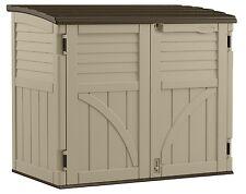 Sung9 Storage Sheds Outdoor Suncast Bms3400 34 Cu. Ft. Horizontal Patio Lawn