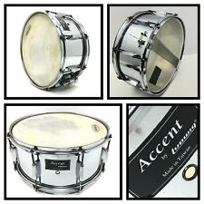 "Vintage LUDWIG 14"" ACCENT SNARE DRUM Metal Shell Chrome Finish, Tiawan"