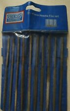 Rolson 10 Piece Needle File Set And Holder.