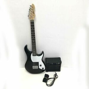 Peavey Rockmaster Electric Guitar & Amp with Instrument Cable - Works!