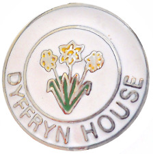 Dyffryn House Vale of Glamorgan Wales Small Crest Pin Badge