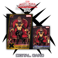 2019 X-MEN W1 GOLD DIE-CUT + SILVER KITTY PRYDE Topps Marvel Collect Digital