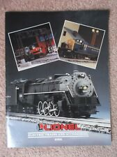 LIONEL ELECTRIC TRAINS AND ACCESSORIES CATALOGUE 1988