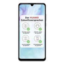 """HUAWEI P30 lite 128GB Dual-SIM Pearl White [15,62cm (6,15"""") IPS LCD Display,"""