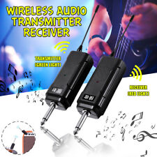 Wireless Audio Transmitter Receiver System for Electric Guitar Violin Bass
