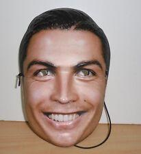 CRISTIANO RONALDO Face Mask PLÁSTIC !!!!