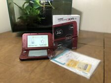 New Nintendo 3DS LL XL Metallic Red japanese version MINT