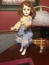 Vintage American Character - Sweet Sue 17� Walker Doll Needs T.L.C.