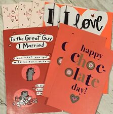 8 Valentine's Day Card Lot With Envelopes American Greetings - - 5