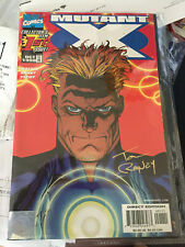 Mutant X #1 Wizard World Special Signed by Tom Raney COA RARE!! Wolverine Tags!!