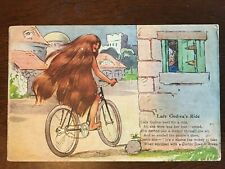 1910s Corbin Coaster Brake Bike Ad - Lady Godiva's Ride