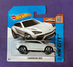 Hot Wheels - Lamborghini Urus Blanco - NUEVO