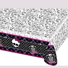 Amscan Monster High Plastic Table Cover party fun free uk p&p