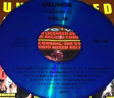 Grunge Live Vol. 3 CD Very Rare Trees Soundgarden Rollins Band Smashing Pumpkins