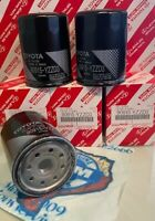 3 x TOYOTA Oil Filter 90915-YZZD3 4Runner Tundra Tacoma Sequoia + Drain Plug
