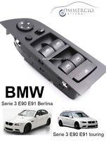Pulsantiera Alzacristalli BMW Serie 3 E90 E91 318 320 325 330 Nuova dal 2004 >