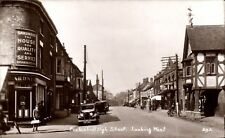 Eccleshall. High Street looking West # 293 in Wells Series for E.J.Houlstone, E~