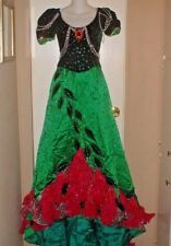 TRUE VINTAGE 50S/60S CUSTOM MARDI GRAS PAGEANT PARADE DRESS SIZE X-SMALL WOW!