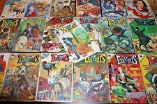 FANTOMAS Lot of 22 MEXICO COMIC BOOKS 1970s Novaro Action Adventure