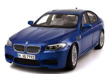 BMW M5 F10 blue 1:18 Paragon