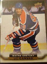 15/16 Upper Deck Canvas Retired Wayne Gretzky C249 Oilers