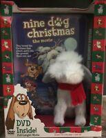 Nine Dog Christmas (DVD, 2004) New, With Plush Toy Dog
