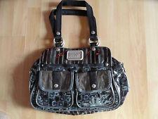 GEORGE GINA LUCY GGL schöne bunte Handtasche ROCK THE WOK braun grau  NEU
