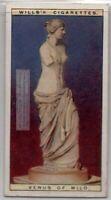 Venus de Milo Greek Marble Statue 90+  Y/O Ad Trade Card