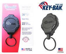"Key-Bak Ratch-IT Lock Retractable Key Holder Belt Clip Super Duty 36"" Cord"