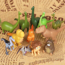 12pcs The Good Dinosaur Cake Toppers Action Figures Doll Kids Boy Girl Toy Gift