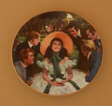 Gone With The WInd SCARLETT AND HER SUITORS Plate Golden Anniversary Series