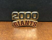 San Francisco Giants Gorgeous Authentic Vintage Inaugural Year 2000 Pin!