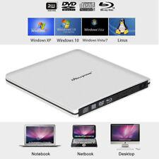 USB3.0 Externe DVD CD Blu-Ray Brenner Laufwerk Superdrive Player für PC Laptop