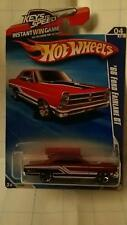 '66 Ford Fairlane GT #82 * Red * 2010 Hot Wheels  * 04/10 *
