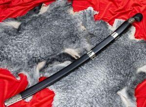 Caucasian shashka saber, wooden handle, Melchior, forged steel Кавказская Шашка