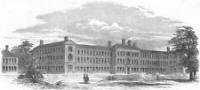 SURREY. North Surrey Industrial Schools, Anerly, antique print, 1850