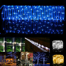 100 LEDs 32FT Solar Rope Tube Lights Waterproof String Light Outdoor Garden Lamp