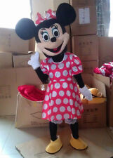Mrs Minnie Mouse Mascots Cartoon Costumes Halloween Costume Adult Size Gift