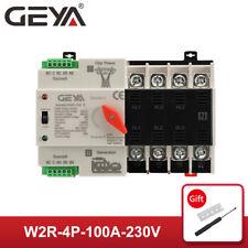 Geya Automatic Transfer Switch Grid to Ac Generator 4P 63A 100A 230V Pc Level