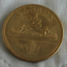 EDWARD VIII 1936 CANADA GOLDEN ALLOY PROOF PATTERN VOYAGEUR DOLLAR - mintage 18